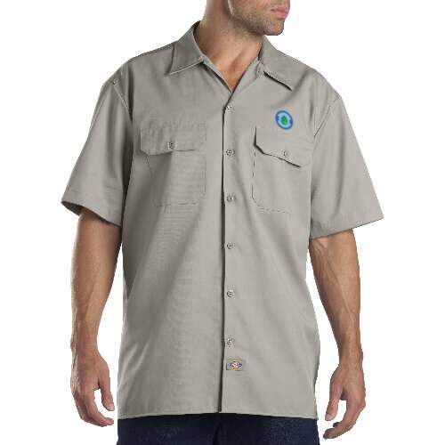 dickies unisex short sleeve work shirt