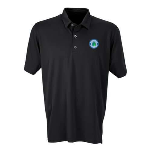 vansport™ micro-waffle mesh polo shirt