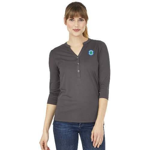 charles river apparel® women's windsor henley