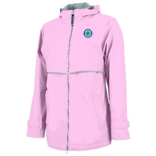 charles river apparel® women's new englander® rain jacket