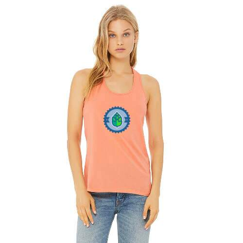 bella+canvas ladies' jersey racerback tank top