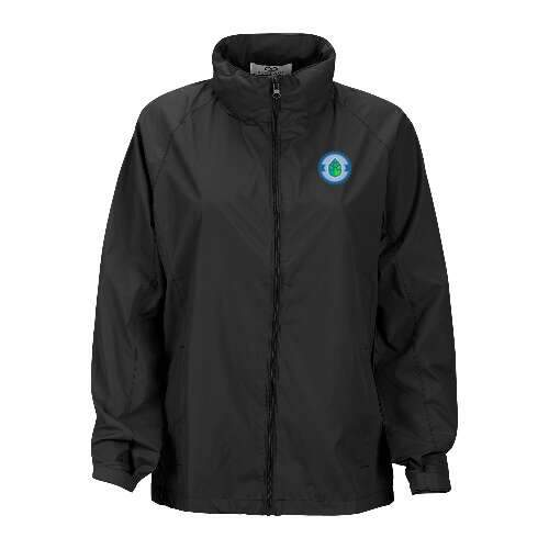 women's full-zip lightweight hooded jacket