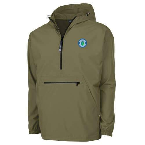 charles river apparel® adult pack-n-go® pullover jacket