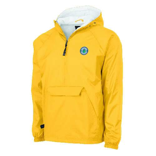 charles river apparel® adult classic solid pullover jacket