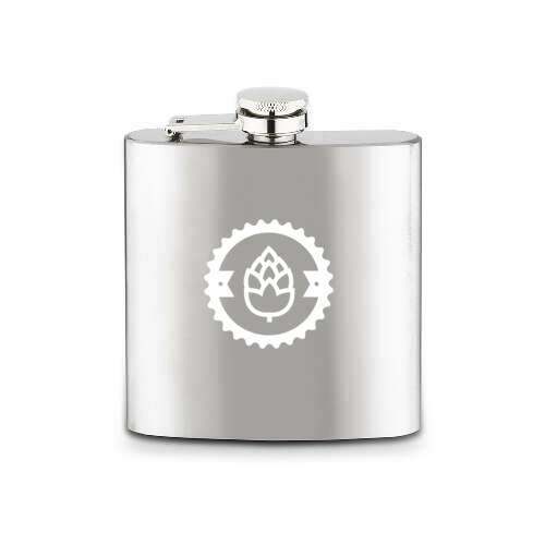 daniels hip flask - 6 oz