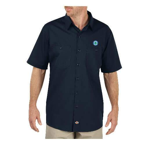 dickies men's maxcool premium performance work shirt