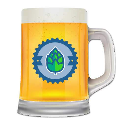 full color beer mug coaster